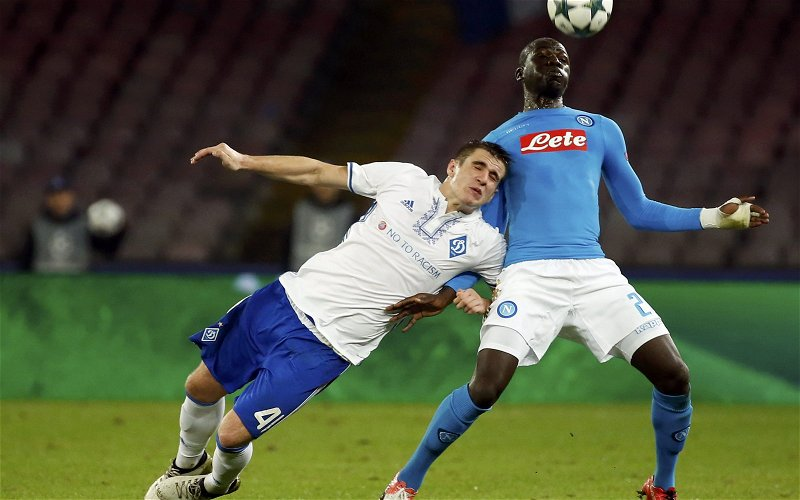 Image for Liverpool fans don't want Kalidou Koulibaly after Napoli defender linked with Anfield move