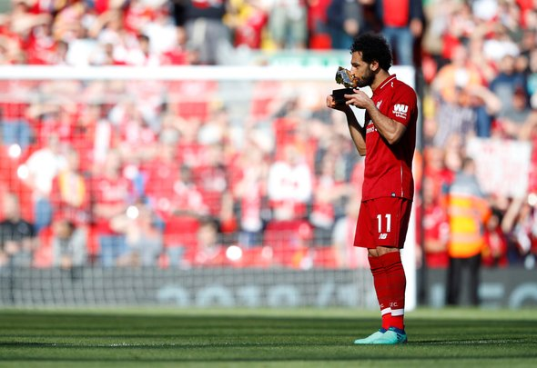 Liverpool forward Salah is now in the top three players in the world