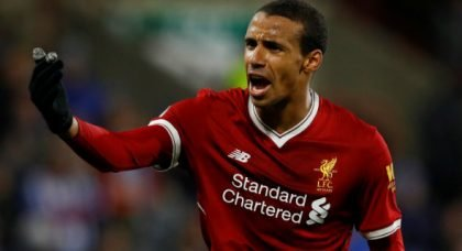 Liverpool fans rave about Matip at HT v Leicester