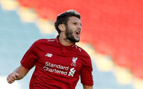Image for Liverpool fans praise Adam Lallana after viewing compilation of his Reds goals