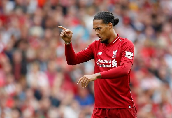 Liverpool supporters rave over Van Dijk display
