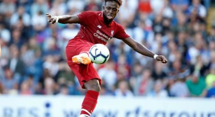 Liverpool want £20m+ for Origi