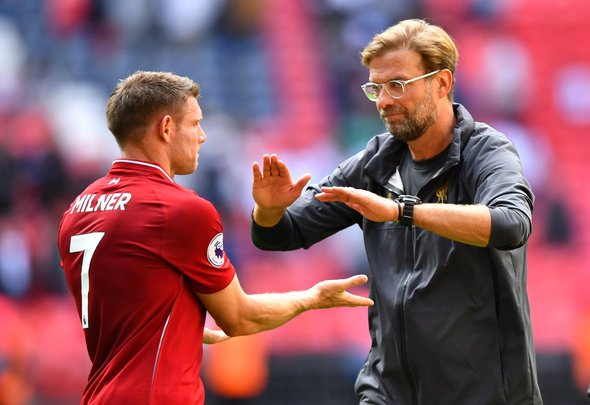 Milner expected to start at right back v Crystal Palace