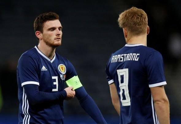 Klopp will be concerned about Robertson display for Scotland
