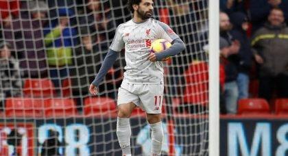 Carragher raves over 'brilliant' Salah v Bournemouth