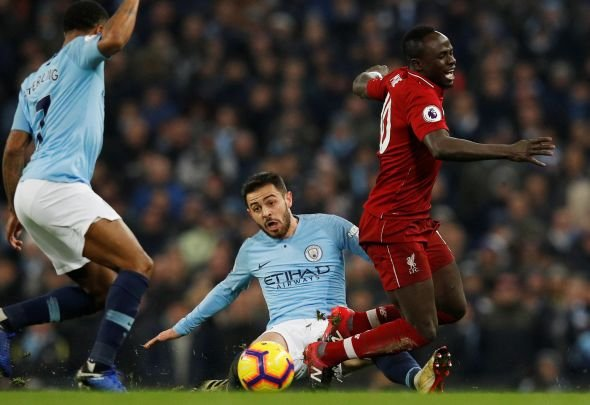 Liverpool fans blast Mane at half time v Manchester City