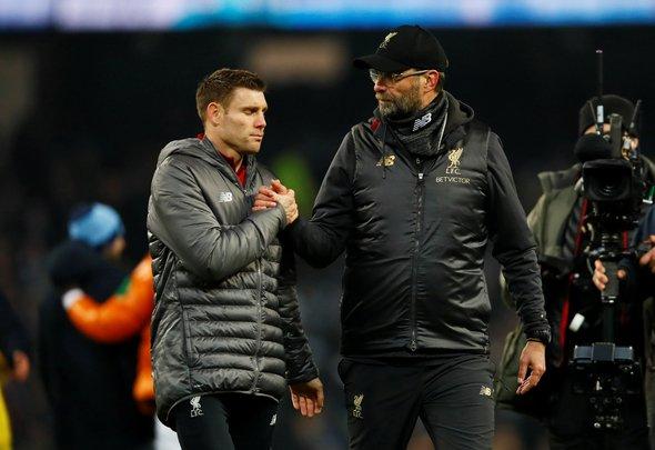 Liverpool fans slam Milner v Bayern Munich