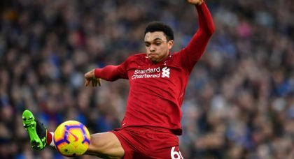 Alexander-Arnold likely back for Bournemouth