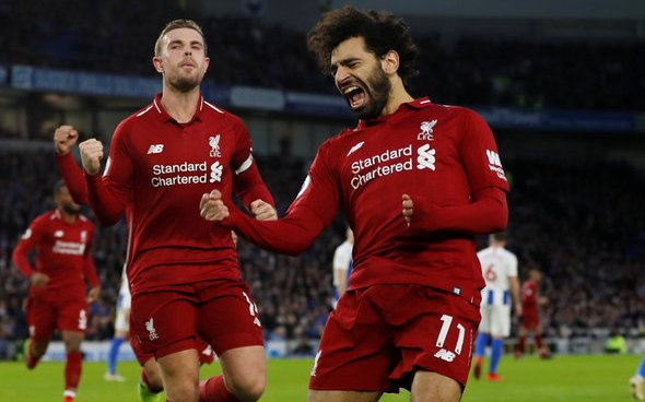 Image for Rush: Salah a 'better player' than last season