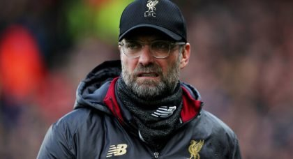 Klopp unhappy with defence