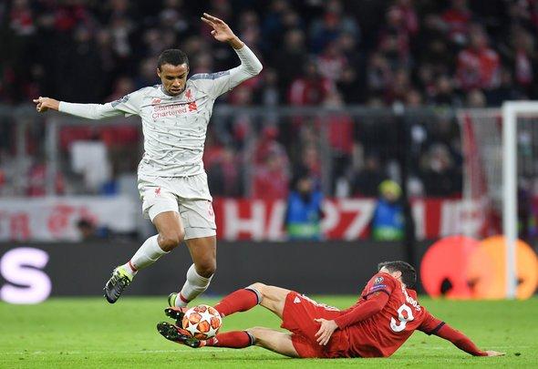 Liverpool fans gush over Matip v Bayern Munich