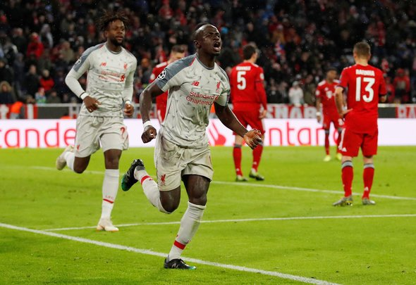 Sutton drools over Mane display v Bayern Munich