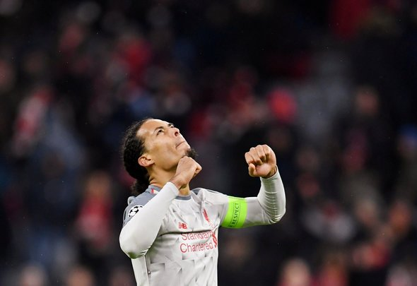 Lawrenson raves about Van Dijk and Liverpool front three