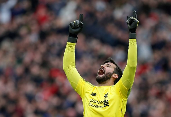 Liverpool fans react to image of Alisson at Melwood