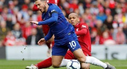Liverpool fans blown away by Fabinho v Chelsea