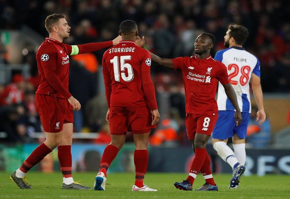 Henderson and Keita to be recalled v Cardiff