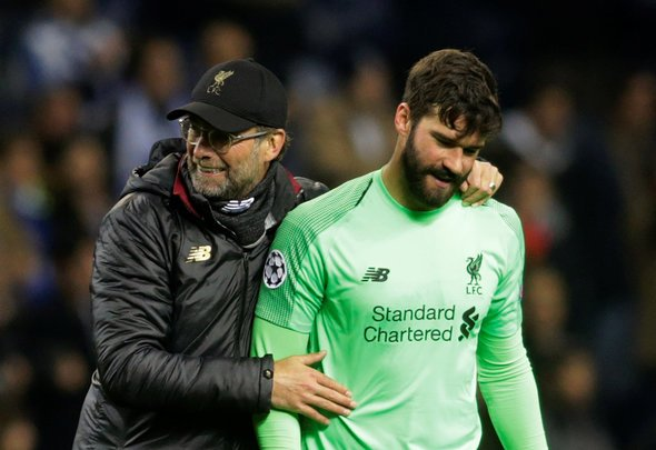 Klopp: Alisson making good progress
