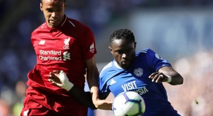 Liverpool fans delighted with Matip v Cardiff