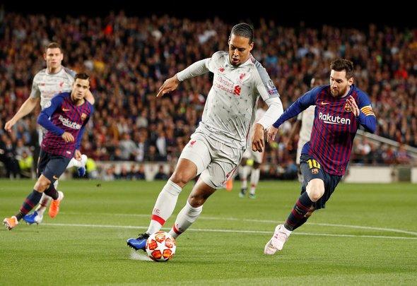 Messi gushes over Van Dijk