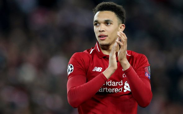 Image for Liverpool fans laud Trent Alexander-Arnold for his role in donation to city hospital