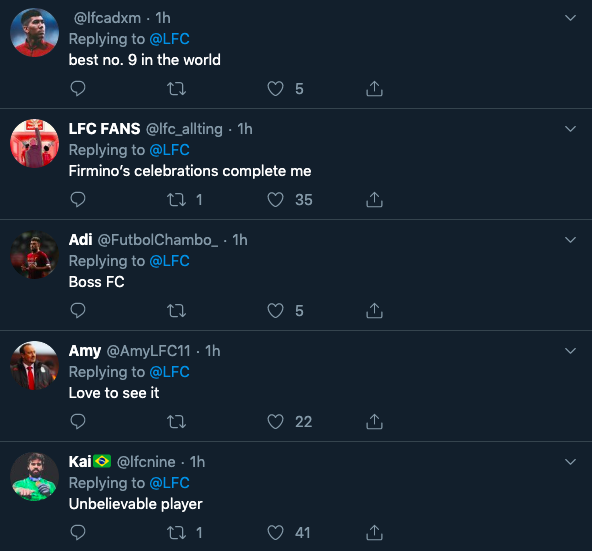 'Unbelievable', 'Hero', 'Love to see it' – Many Liverpool fans go wild for official tweet on ace