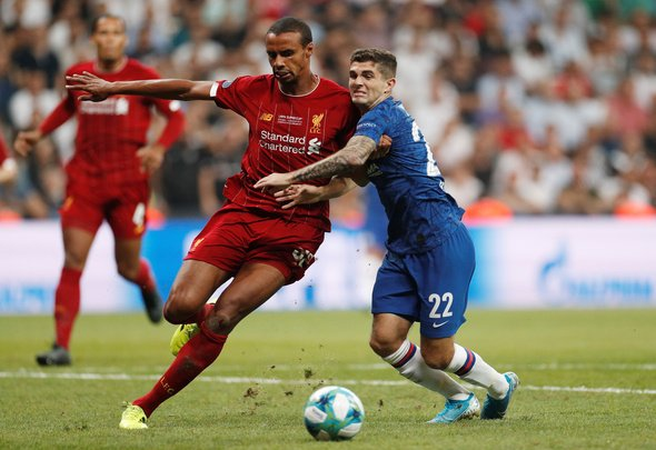 Liverpool fans hail Matip for display v Chelsea