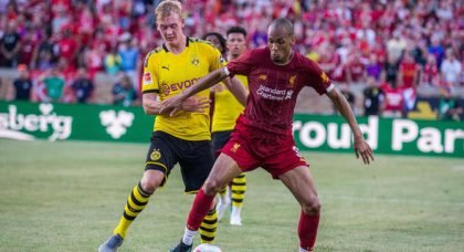 Fabinho won't leave, almost certain to start on Friday