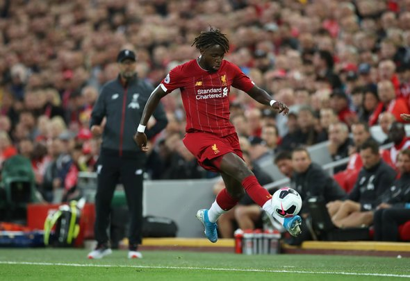Liverpool fans go wild for Origi at HT v Norwich