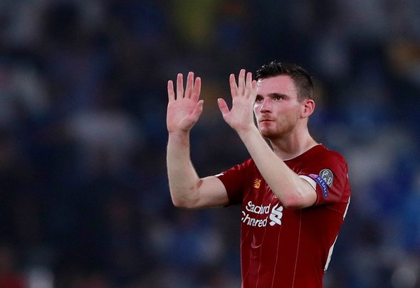 Salah and Robertson major doubts for Palace clash
