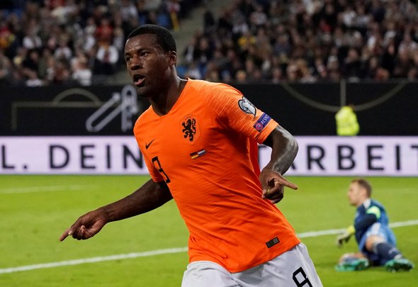 Nicholas raves over Wijnaldum's international form
