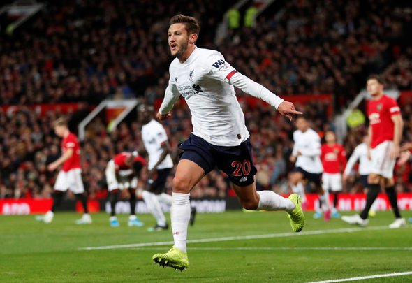 Liverpool fans rave about Lallana v Arsenal