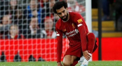Salah faces late fitness test