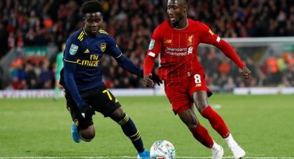 Klopp not brave enough to select Keita v Everton