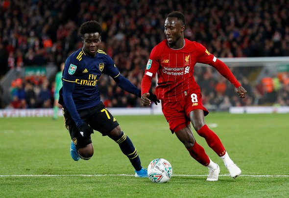Liverpool fans drool over Keita v Bournemouth