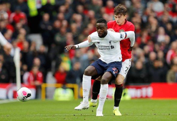 Liverpool fans slam Origi display v Man Utd
