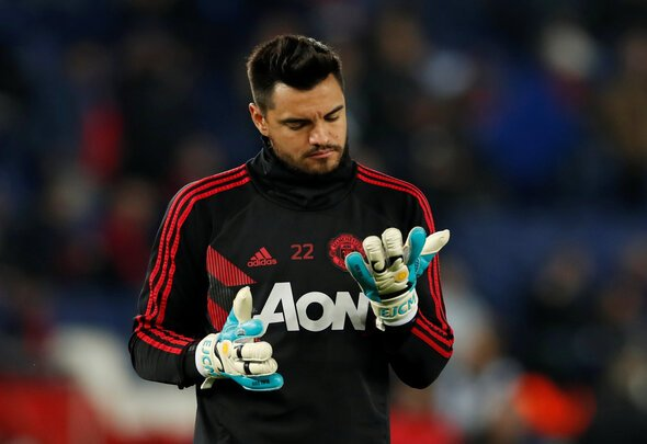 Man United confirm Sergio Romero likely to start v Liverpool