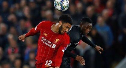 Liverpool fans slam Joe Gomez in win v Genk