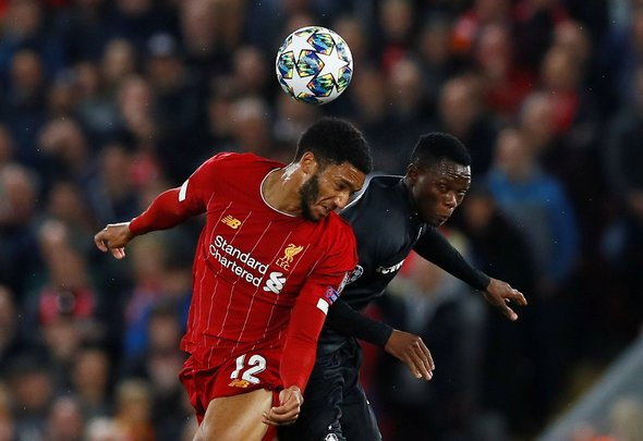 Liverpool fans slam Joe Gomez in win v Genk