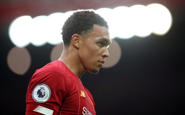 Image for Liverpool fans laud Trent Alexander-Arnold's performance figures