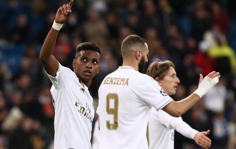 Liverpool tracked Rodrygo before Madrid move