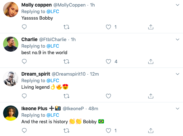 Many Liverpool Fans Gush About