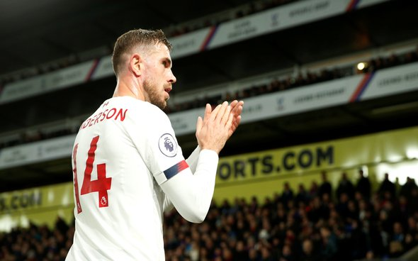 Image for Liverpool fans agree with Stan Collymore's calls for Jordan Henderson to be awarded MBE or OBE