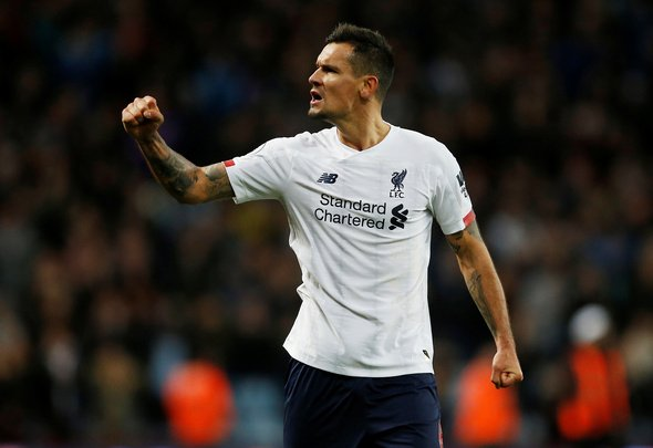 Liverpool fans slam Lovren in first half v Napoli