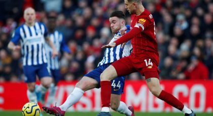 Liverpool fans slam Henderson in 2-1 win v Brighton