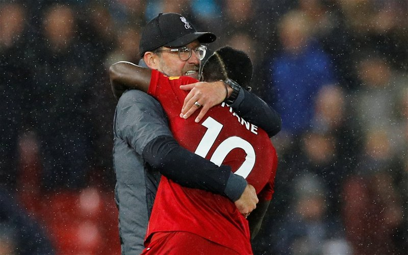 """Image for """"Was I wrong!"""" – Jurgen Klopp admits he had a bad first impression of Sadio Mane"""
