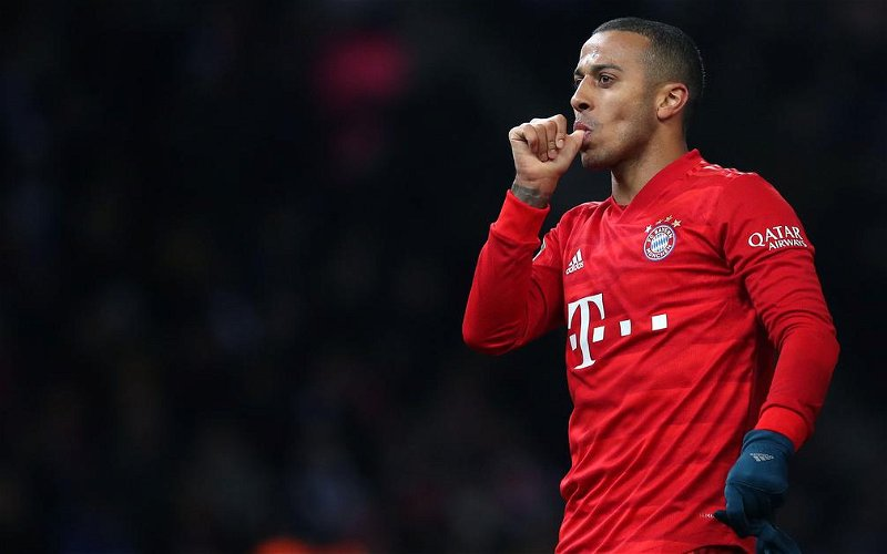 Image for Liverpool agree deal with Bayern Munich for Thiago Alcantara