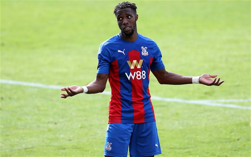 Image for Wilfried Zaha would be an excellent signing for Liverpool
