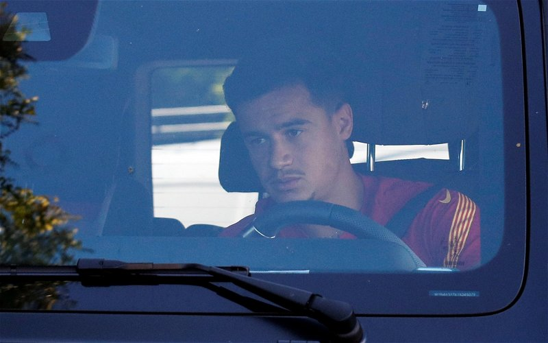 Image for Journalist confirms Liverpool are not interested in Philippe Coutinho