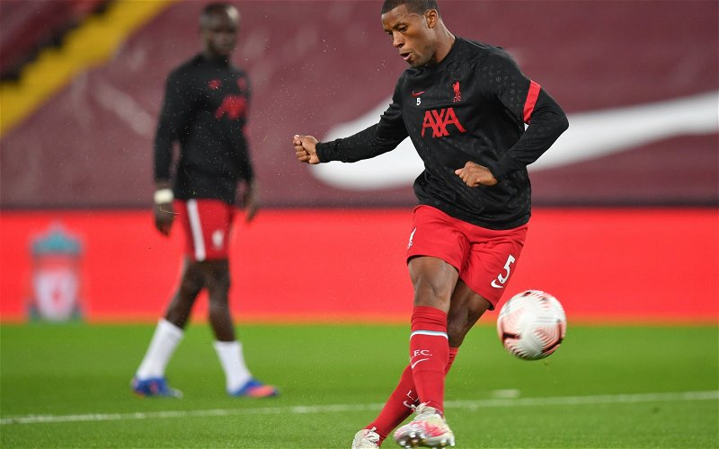 Image for Kevin Campbell claims Liverpool will struggle to replace Gini Wijnaldum