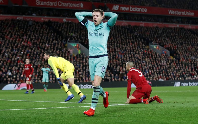 Image for Many Liverpool fans dismiss Aaron Ramsey links